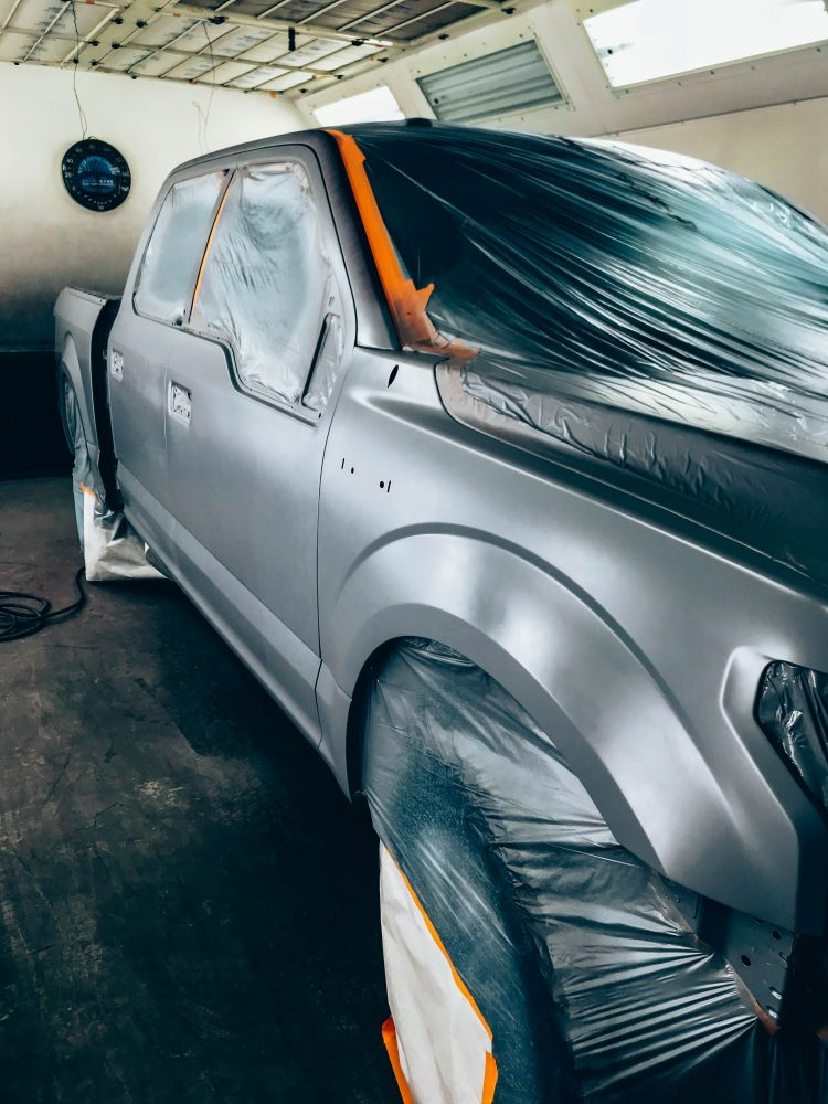 Gibbs Paint and Body- Primer Stage, Auto Body Collision, Repair, Abilene TX