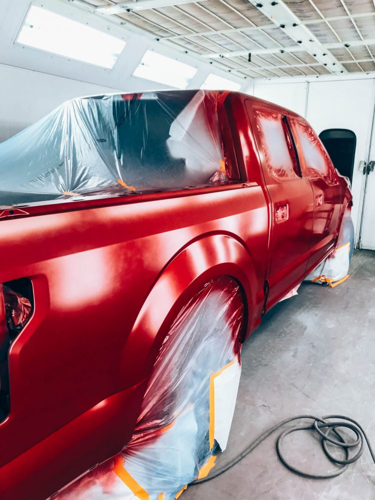 Gibbs Paint and Body-Painting Process Base Coat