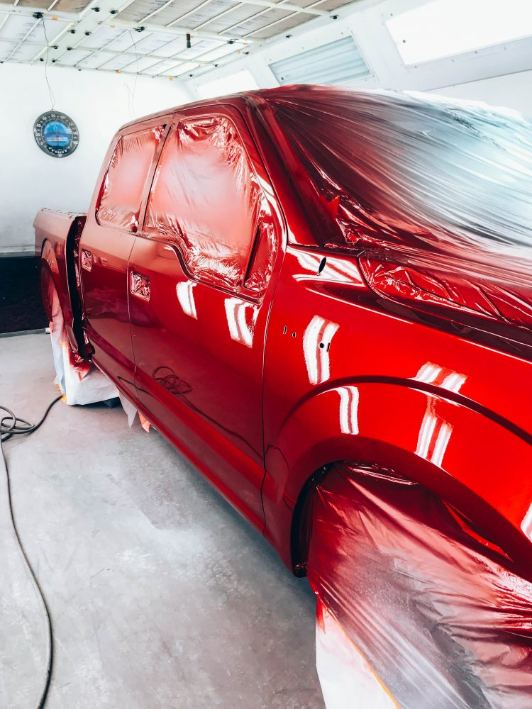 Gibbs Paint and Body-Painting Process Clear Coat